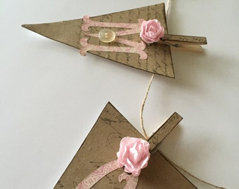 Amour Love Banner Garland French Script Pink Rose Party Decor
