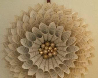 Harvest & Holiday Medallion Wreath