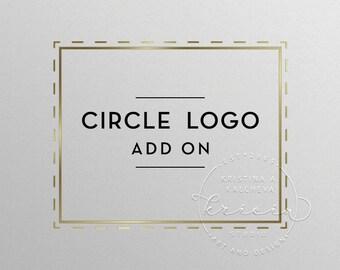 Circle logo, Circle watermark