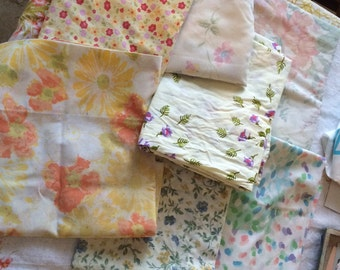 Vintage Pillowcases lot set of 7
