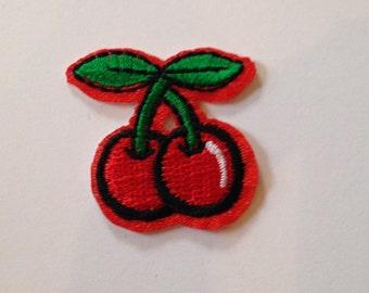 Cherries Iron on Patch