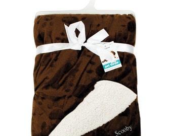 Personalised Pet Blanket - Pet Throw - Dog blanket, Puppy blanket, Cat blanket, Kitten blanket