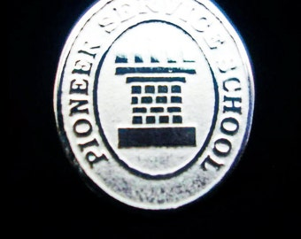 Lapel JW.org PIN PIONEER Service School 950 Sterling Silver Watchtower Jehovah