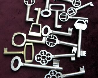 15  pieces wedding thank you vintage skeleton keys Steampunk