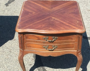 Drexel Touraine French End Table