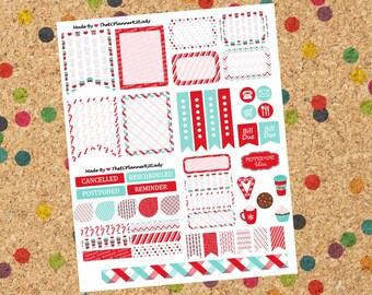 Peppermint Mocha Sticker Set