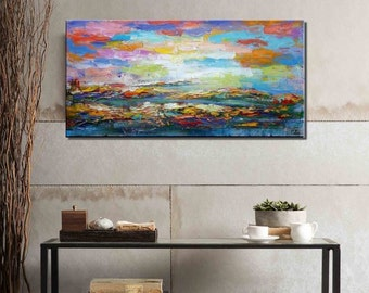 Oil Painting, Canvas Art, Large Wall Art, Abstract Painting, Abstract Art, Large Art, Canvas Painting, Landscape Painting, Large Canvas Art