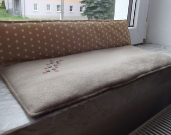 Cat pillow for window sill