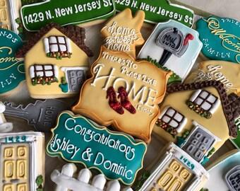 2 Dozen House Warming  Cookies