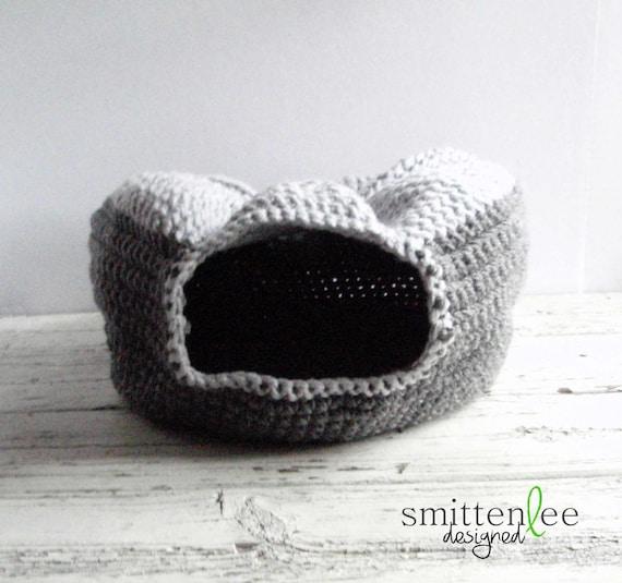 Free Crochet Pattern Cat Nest : cat bed cat nest cat cave crochet cat bed crochet cat