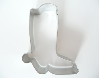 "3"" Cowboy Boot Cookie Cutter West Western Cowgirl Horse"