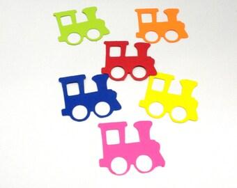 Die Cut Trains-Assorted Trains (Small),Die Cuts, Scrapbooking,Die Cuts, Embellishmenst, Trains, Choo! Choo! Trains, Crafts,-DCC-53