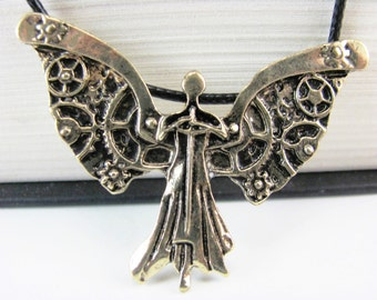 Clockwork Angel Necklace Inspired by The Infernal Devices