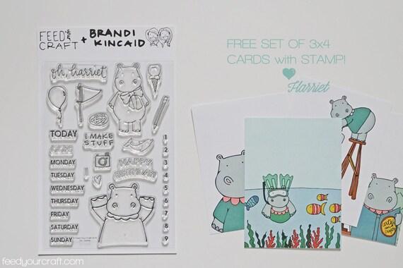 Oh, Harriet Stamp Set