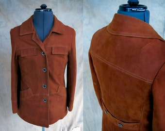 Soft Leather Jacket // Nicely Lined // Men's Small, Women's Medium