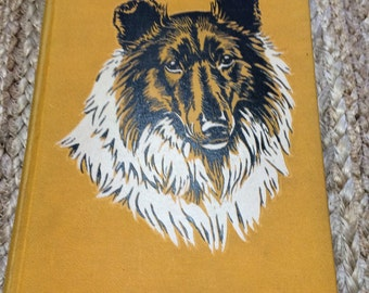 Vintage 1945 Lassie Come Home Children's Book Hardcover Victory (wartime)