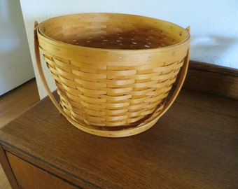 Longaberger Sewing Basket