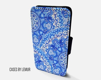 MANDALA Iphone 5s Wallet Case Leather Iphone 5s Case Leather Iphone 5s Flip Case Iphone 5s Leather Wallet Case Iphone 5s Leather Sleeve