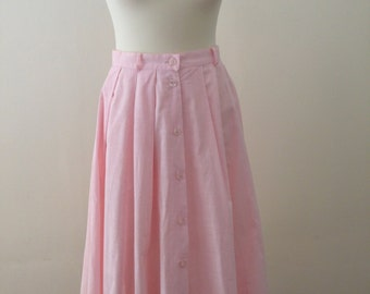 Pink 1950's Style Skirt