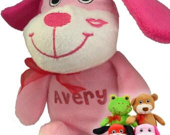Personalized Valentine Stuffed Animal