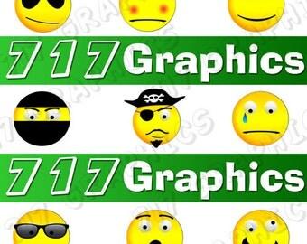 Smiley Face Clipart/Emoji