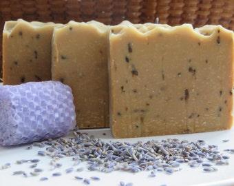 Lavender Honey Beeswax Soap, All Natural Soap, Cold Process Soap, Bath Soap, Bar Soap, Artisan Soap, Spa Soap, Shea Butter, Handmade Soap
