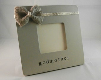 God mother god father gifts frame Baptism decorations, baptism godmother gift