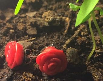 Rose Bloom Earrings