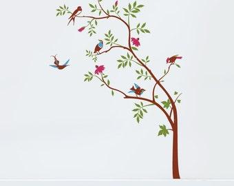 Birds Tree Vinyl Wall decal