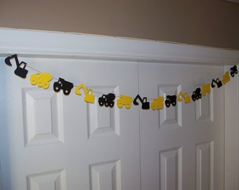 Construction garland Etsy
