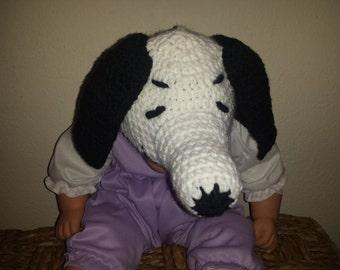 Crochet Snoopy  Hat