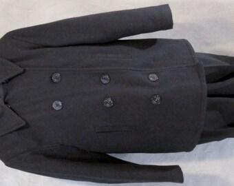 USN Military Pea Coat