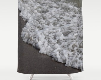 "FOAM   Shower Curtain   71"" BY 74""   Photo-Bath-Bathroom-Home Decor-Curtain"