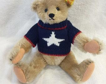 Steiff Patriotic Teddy Bear