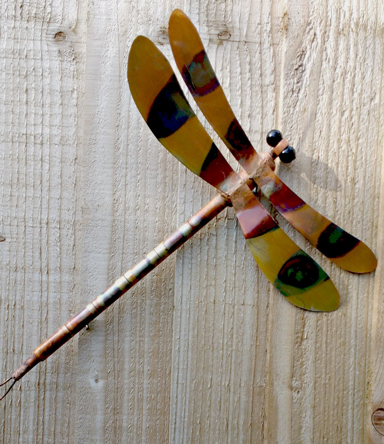 Copper dragonfly wall art for Dragonfly wall art