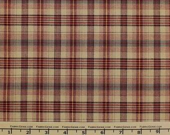 "Aberdeen Plaid Stretch Suiting Fabric ""HVNX3P-F073453"""