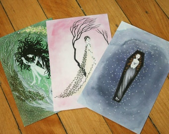 Postcard Paintings