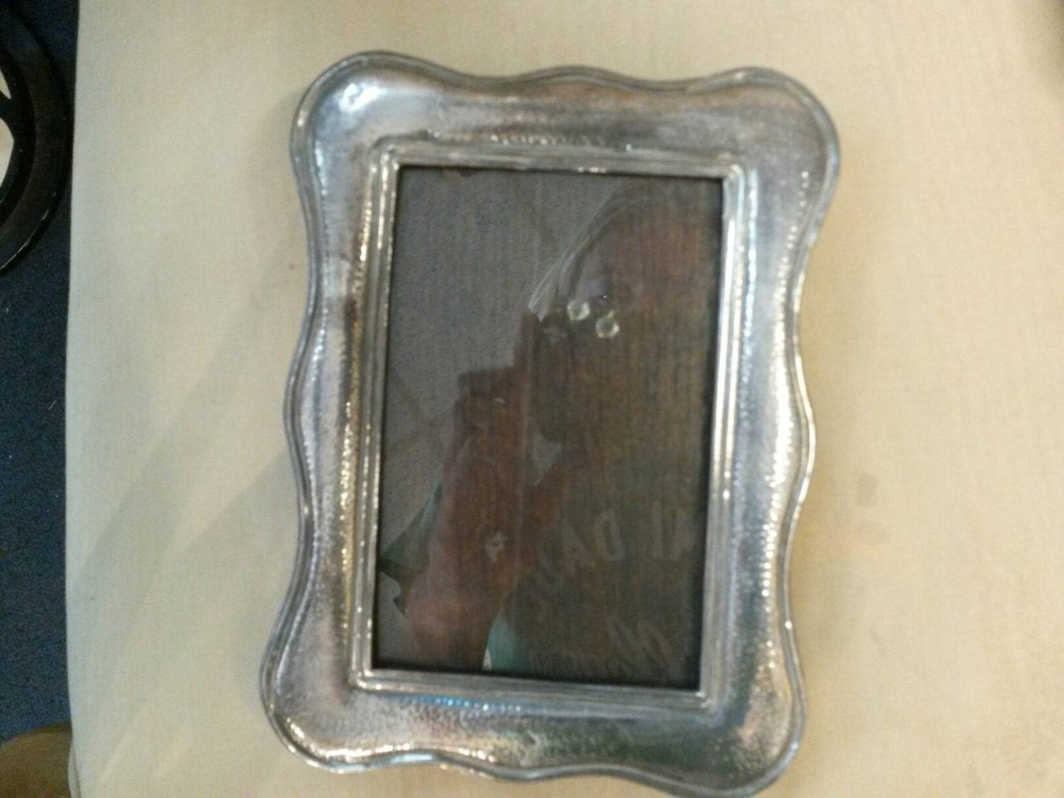 Antique Sterling Silver Picture Frame by WhiteElephantbyMax