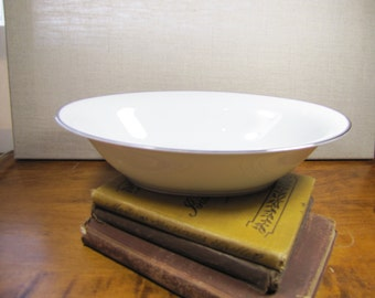Vintage Noritake - Silverdale - Serving Bowl - Platinum Trim