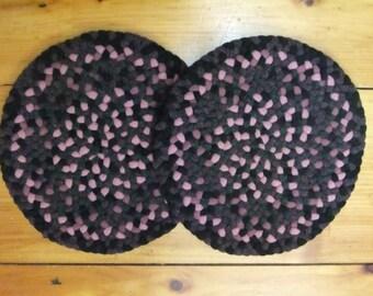 Handmade Braided Chair Pads