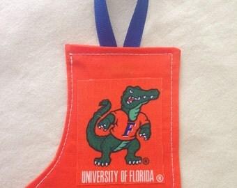 "Florida ""Gators"" Stocking Ornament"