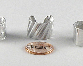 Adjustable Ring - Three For One Aluminum Bands (R066)