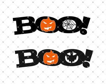 Halloween SVG cut files, Halloween Boo SVG cut files for Cricut, Cut files for Silhouette, svg files, Halloween files