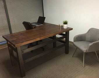 Executive Carruca Office Desk L Shape