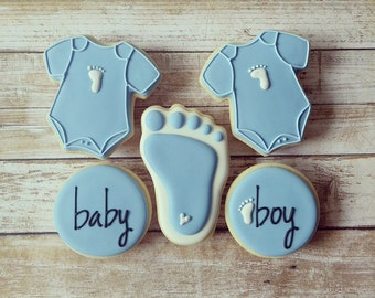 Baby Feet Sugar Cookies(12)