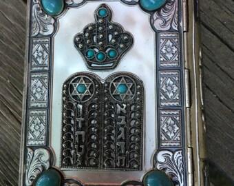 Mourners Kaddish with metal cover