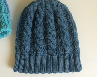 Knit kids hat