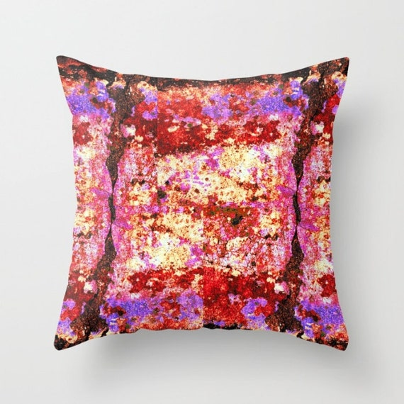 red and black pillow cover red throw pillow antique purple. Black Bedroom Furniture Sets. Home Design Ideas