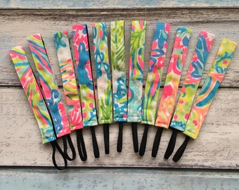 Lilly Pulitzer 2016 Lovers Coral nonslip headband