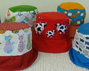 Handmade Reversible Sun Hats
